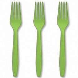 Forchette Piccole Plastica 10 pz
