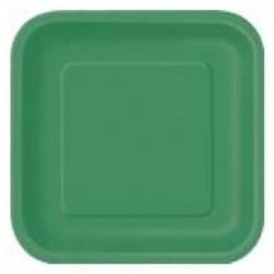 Piatti Quadrati 23 cm