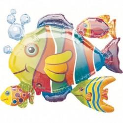 Pallone Pesce Tropicale 90 cm