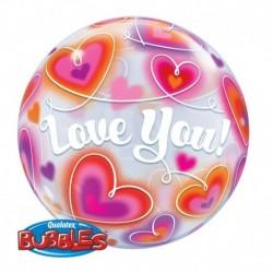 Pallone Bubble 60 cm