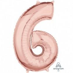 Numero 6 Rosa Gold