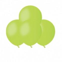 Palloncini Pastel Verde Lime 12 cm