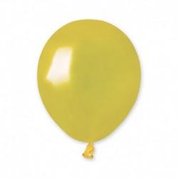 Palloncini Metallic Gialli 12 cm