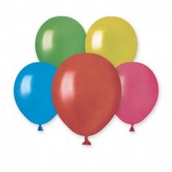 Palloncini Metallic Colori Assortiti 12 cm