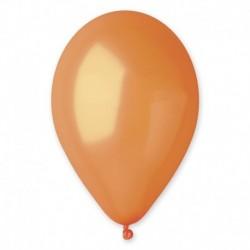 Palloncini Metallic Arancione 25 cm