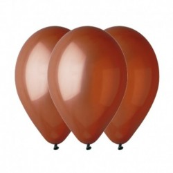 Palloncini Pastel Marrone 30 cm