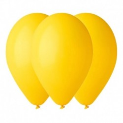 Palloncini Pastel Giallo 35 cm