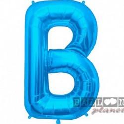 Lettera B Blu 90 cm