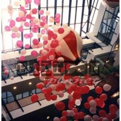 Cascata di palloni