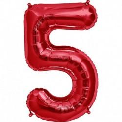 Numero 5 Rosso