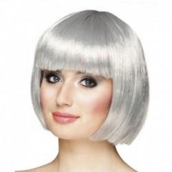 Parrucca Argento
