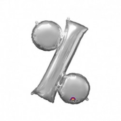 Simbolo % Argento