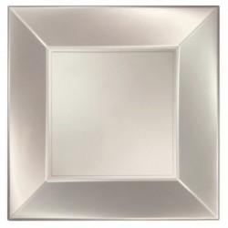 Piatti Quadrati Plastica 29 cm