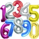 Numeri Mylar 90 cm