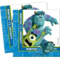 20 Tovaglioli Carta Monster 33x33 cm