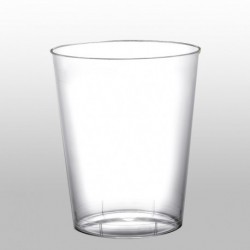 10 Bicchieri Plastica Trasparenti 230 ml