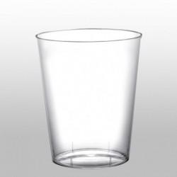 6 Bicchieri Plastica Trasparenti 320 cc
