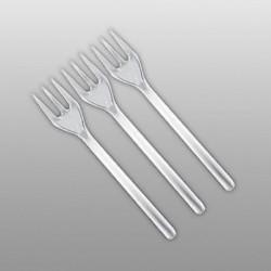 Mini Forchette Plastica 100 pz