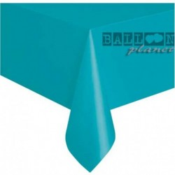 Tovaglia Plastica Turchese Teal 137x274 cm