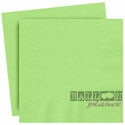 20 Tovaglioli Carta Verde Lime 33x33 cm