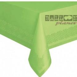 Tovaglia Plastica Verde Lime 137x274 cm