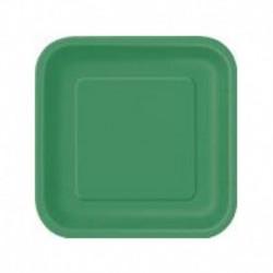 Piatti Quadrati 18 cm