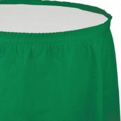 Gonna Plastica Verde Smeraldo 74x420 cm