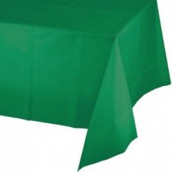 Tovaglia Plastica Verde Smeraldo 137x274 cm