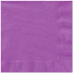 20 Tovaglioli Carta Viola Chiaro 33x33 cm
