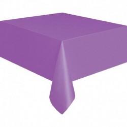Tovaglia Plastica Viola Chiaro 137x274 cm
