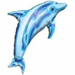 Pallone Delfino Blu 85 cm