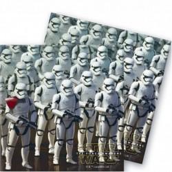 20 Tovaglioli Carta Star Wars 33x33 cm