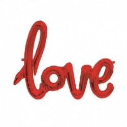 Pallone Love Rosso 100 cm