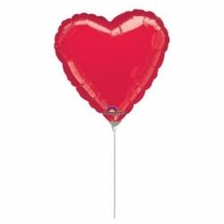 Pallone Cuore Rosso 25 cm