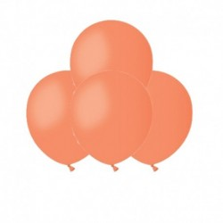 Palloncini Pastel Arancio 12 cm