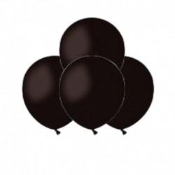 Palloncini Pastel Nero 12 cm