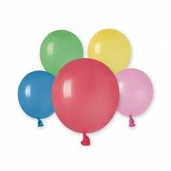 Palloncini Pastel Colori Assortiti 12 cm