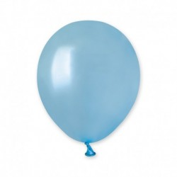 Palloncini Metallic Azzurro 12 cm
