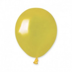 Palloncini Metallic Giallo 12 cm