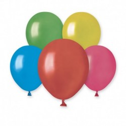 Palloncini Metallic Colori Assortiti 12 cm