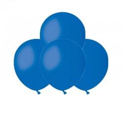 Palloncini Pastel Blu scuro 12 cm