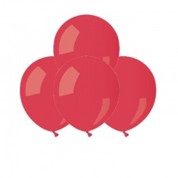 Palloncini Pastel Rossi 12 cm
