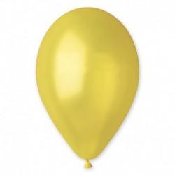 Palloncini Metallic Giallo 25 cm