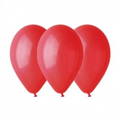 Palloncini Pastel Rosso 25 cm