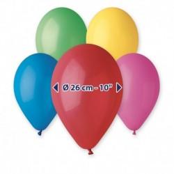 Palloncini Pastel Colori Assortiti 25 cm