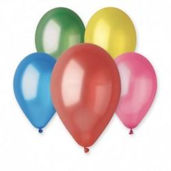 Palloncini Metallic Colori Assortiti 25 cm