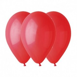 Palloncini Pastel Rosso 30 cm