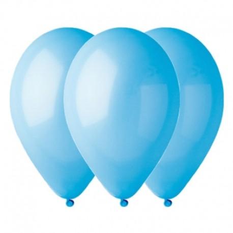 Palloncini Pastel Azzurro 35 cm