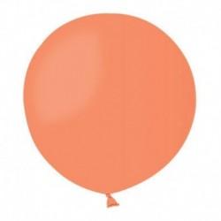 Pallone Pastel Arancione 80 cm