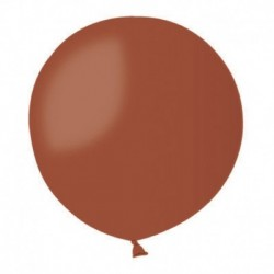 Pallone Pastel Marrone 80 cm